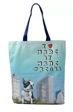 Marc by Marc Jacobs OLIVE THE BULLDOG Boston Terrier Tote Travel Shoulder Bag