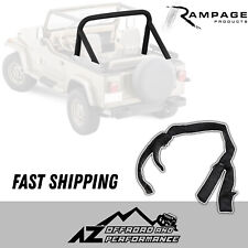 Rampage Roll Bar Pad & Cover Kit 78-91 Jeep Wrangler & CJ-7 768701 Black