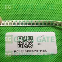 200PCS 1210 0.16R 1% OHM 1/2W RES SMD Chip Resistor YAGEO RC1210FR070R16L