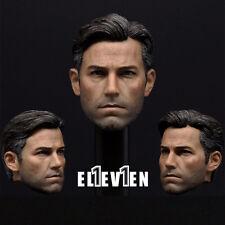 "1/6 Scale Eleven BVS Batman Ben Affleck Head Sculpt For 12"" Hot Toys Figure Body"