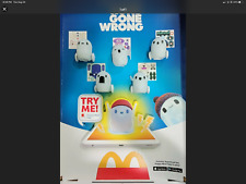 McDonalds RON'S GONE WRONG Happy Meal Toys.  Complete set of 6
