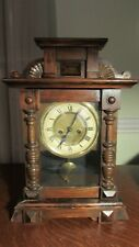 Antique German Mantel Clock - Working Condition