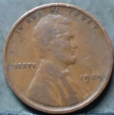 1909 VDB Lincoln Wheat Cent, SEMI KEY,  FREE AND PROMPT SHIPPING