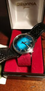 Vintage Delvina Geneve watch