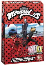 MIRACULOUS LADYBUG THROWDOWN CARD GAME ACTION LAB ENTERTAINMENT NEW & SEALED