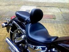 HONDA VTX 1300 VTX1300 RETRO STAINLESS STEEL  DRIVER RIDER BACKREST