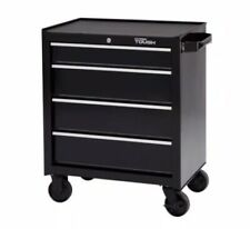 """Hyper Tough 4-Drawer Rolling Tool Cabinet With Ball-Bearing Slides 26""""W"""