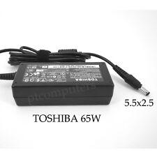 Original Genuine AC Adapter Charger for Toshiba Laptops 19v 3.42a 65w