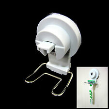 One Touch Razor Stand Razor Power Vacuum Suction Cup Holder Bathroom Organizer