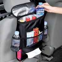 Auto Back Seat Car Multi-Pocket Cool Hot Bag Tidy Insulation Travel Storage New