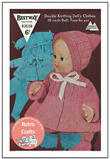 16 inch Baby Doll Clothes Knitting Pattern - Copy