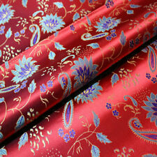 Ancient Costume Chinese Clothes Kimono Cos Jacquard Brocade Silk Sewing Fabric