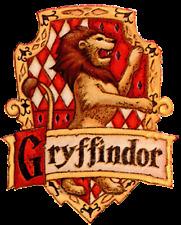 "Pastel De Cumpleaños Topper Comestible 8"" Redondo Imagen Impresa Harry Potter Gryffindor #2"
