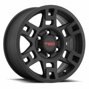 "Genuine Toyota 17"" Black TRD PRO SEMA Wheel Tacoma 4Runner & FJ Cruiser"