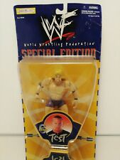 Rare WWF Special Edition Series 6 Test Action Figure From Jakks 1999 mint boxed