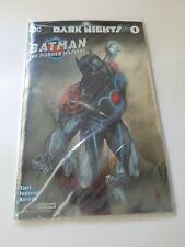 DC Comics Dark Knights Batman The Murder Machine #1 NYCC Exclusive Foil Cover