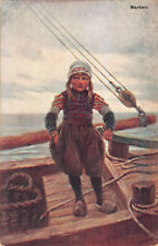 R312180 Marken. W. De Haan. Serie M. 12. 1909