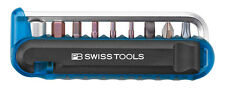 PB Swiss Tools PB 470.Blue CN BikeTool with Precision Bits and Tyre Levers