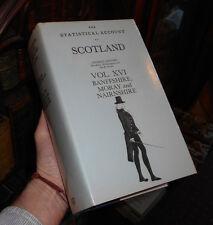 The Statistical Account of Scotland Vol XVI - Banffshire Moray & Nairnshire 1982