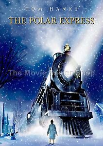 The Polar Express    2004 Movie Posters Classic Vintage Films
