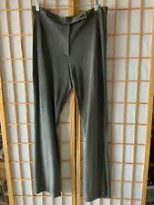 TSE CASHMERE BLACK & White SILK SHEER WOMENS PANTS  SZ 10