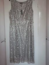 Womans - Laura Ashley - silver Grey Dress - Size 20 - N with T - RRP - £170
