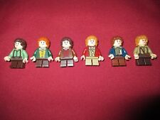 LEGO LOTR Minifigures Lot.Frodo,Bilbo,Samwise,Merry,Pippin
