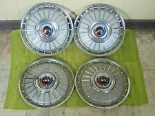 "1962 Ford HUB CAPS 14"" Set of 4 Wheel Covers 62 Hubcaps"