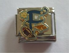 Italian Charms Letter Alphabet  Letters F For Football