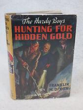 Franklin Dixon THE HARDY BOYS HUNTING FOR HIDDEN GOLD #5 Grosset HC/DJ