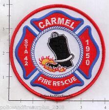 Maine - Carmel Station 42 Fire Rescue ME Fire Dept Patch