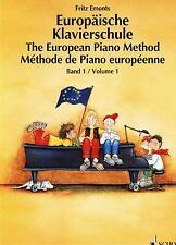 Klavier Noten Schule : Europäische Klavierschule Band 1 Anfänger (ED7931 EMONTS)