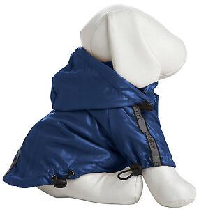 Reflecta-Sport Adjustable Reflective Pet Dog Coat Jacket Rainbreaker w/ Rem Hood