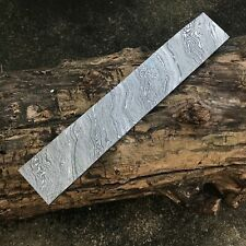10 inches Custom Handmade Damascus Steel Blank Billet For Knife Making (SH 11)