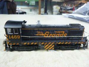 HO ENGINE-BACHMANN S-4 SWITCHER-DENVER RIO GRANDE  DCC, SOUND