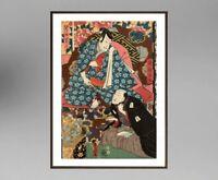 UTAGAWA KUNISADA (1786-1865) ANCIENNE ESTAMPE JAPONAISE  (22)