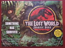 The Lost World Jurassic Park Orginal Mini Cinema Movie Poster 1997 Jeff Goldblum