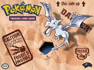 🦴 FOSSIL SET POKEMON CARDS 🦴 Assorted Lot of Pokémon Vintage Set 1999 WOTC