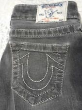 "True Religion ""Skinny"" Jeans Womens Waist 25 / Inseam 32 Black"