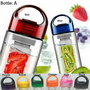 700ML BPA Free Fruit Fuzer Infuser Water Bottle Sport Juice Maker -Random Colour