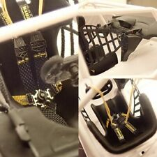 PHOTOETCH: 1/24 NS001 HARNESS/HEAD RESTRAINT FOR AMG GT3 ETC
