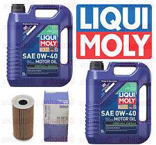 Porsche Oil Change Kit 10-Liters 0W-40 Synthetic Oil & Mahle Oil filter