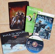 HALO WARS & GENESIS Book Metal Tin Special Edition EXCELLENT Condition XBOX 360