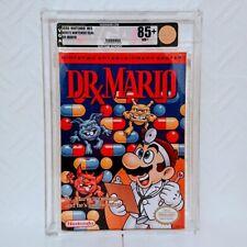 Dr Mario Graded VGA 85+ Nintendo Nes Sealed