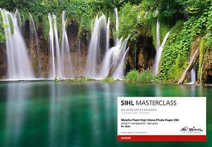 Fotopapier SIHL MASTERCLASS Metallic Pearl High Gloss Photo Paper 290g A3+ 4840