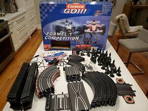 Carrerra Go!!! Large 60600 Formula 1 Slot Car Set Complete Track & Access no car