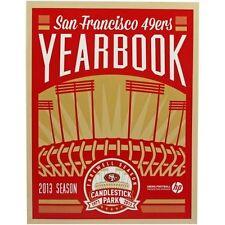 lcw 2013 San Francisco 49ers Yearbook Candlestick Park Final Season 1971-2013