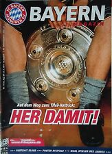 Programm 2000/01 FC Bayern München - Kaiserslautern
