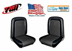1967 Mustang Fastback Shelby & Deluxe Comfortweave Front/Rear Upholstery Set