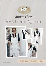 """JANET CLARE """"ARTISAN APRON"""" Sewing Pattern"""
